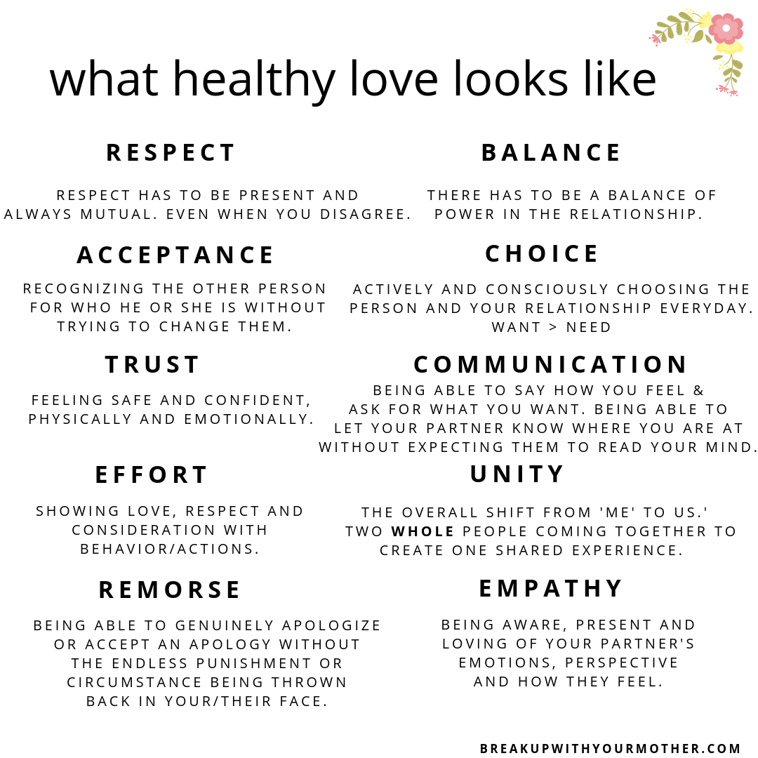 <strong>relationships Goals Videos Text Indonesia</strong> what healthy love looks like
