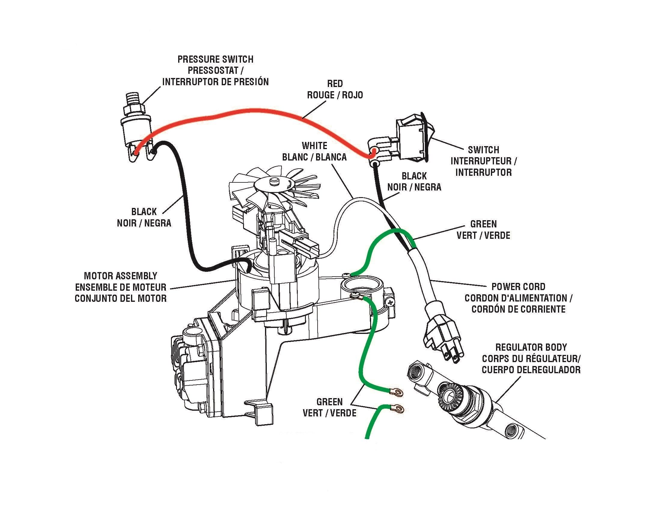 Unique Wiring Diagram for Air Compressor Pressure Switch | Air compressor  pressure switch, Air compressor, CompressorPinterest