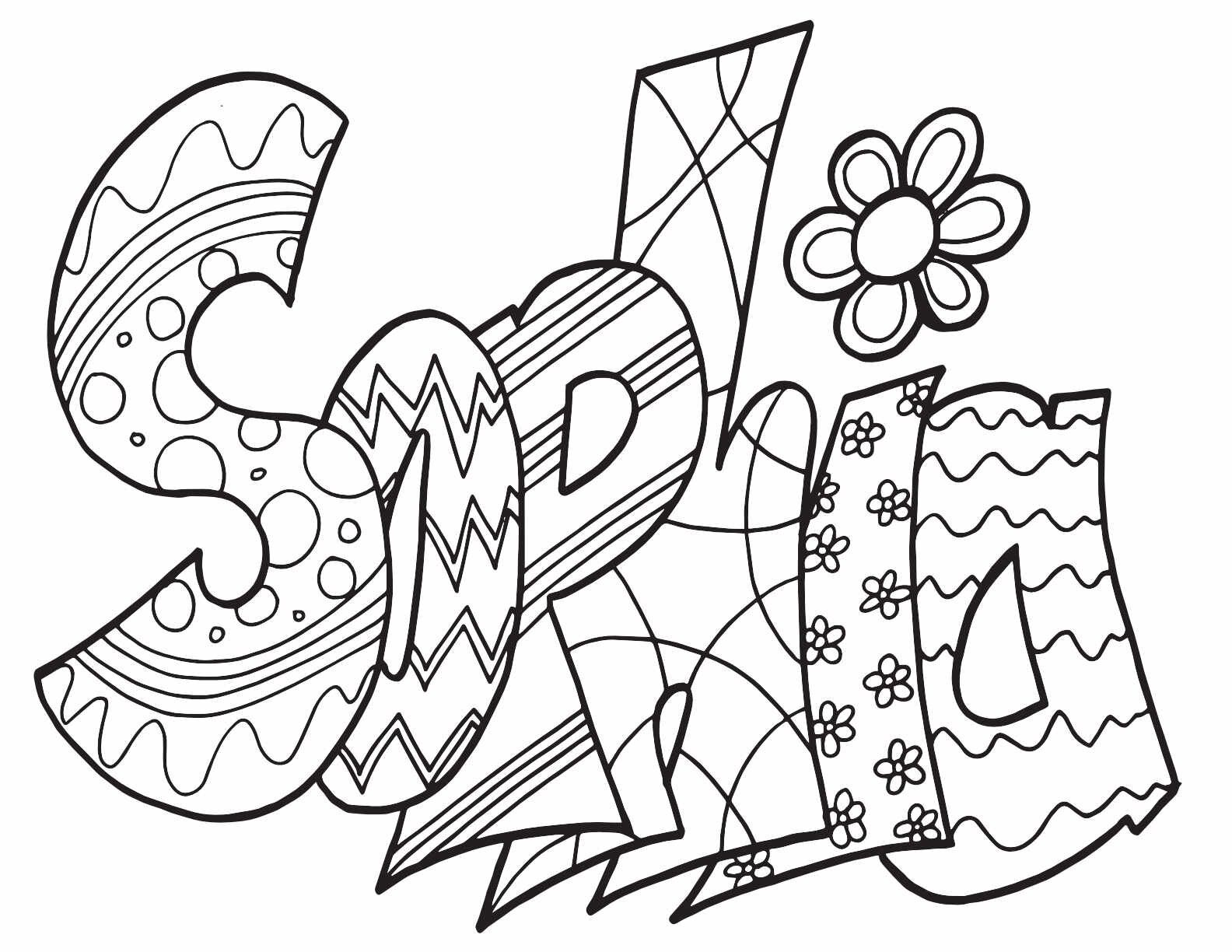 Lauren Classic Stevie Doodle Printable Free Printable Coloring Page Stevie Doodles Name Coloring Pages Coloring Pages Free Printable Coloring Pages