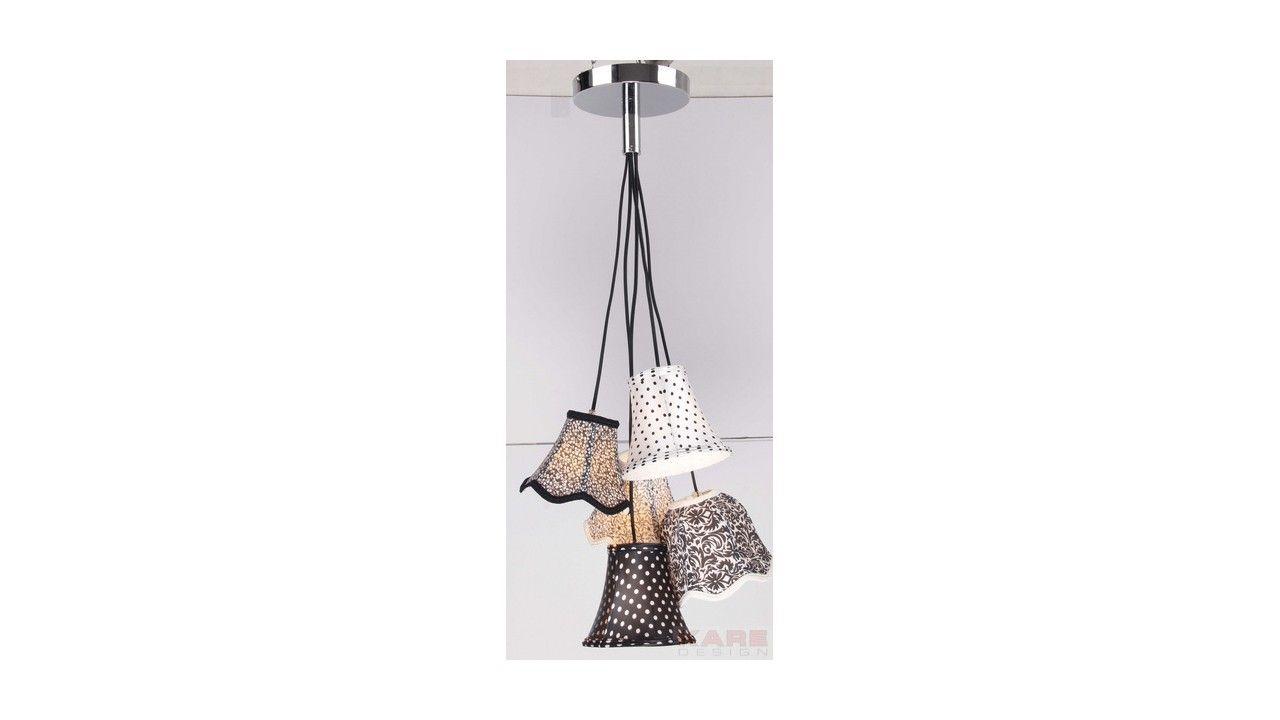 Kare Click suspension saloon ornament noir blanc 5 kare design kare click