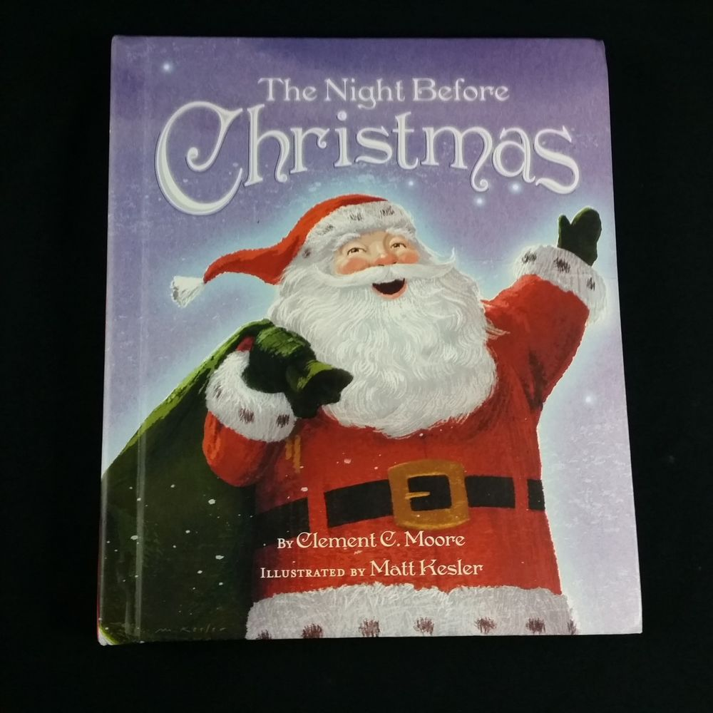 Recordable Christmas Books.Hallmark Recordable Storybook Twas The Night Before