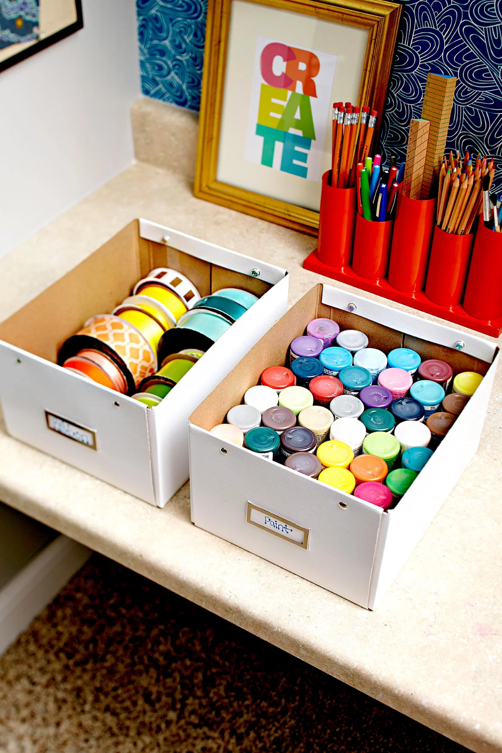 41+ Organizing craft supplies in drawers ideas