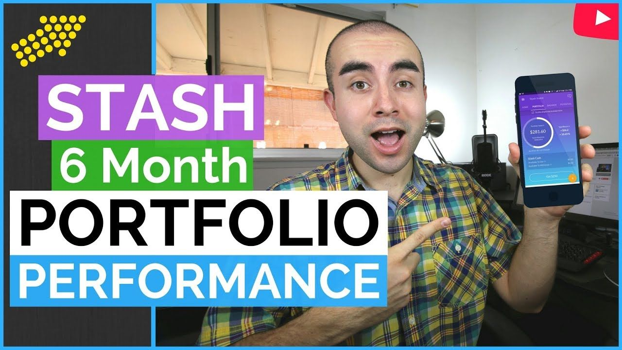 Stash Portfolio Perfomance After 6 Months Investing apps