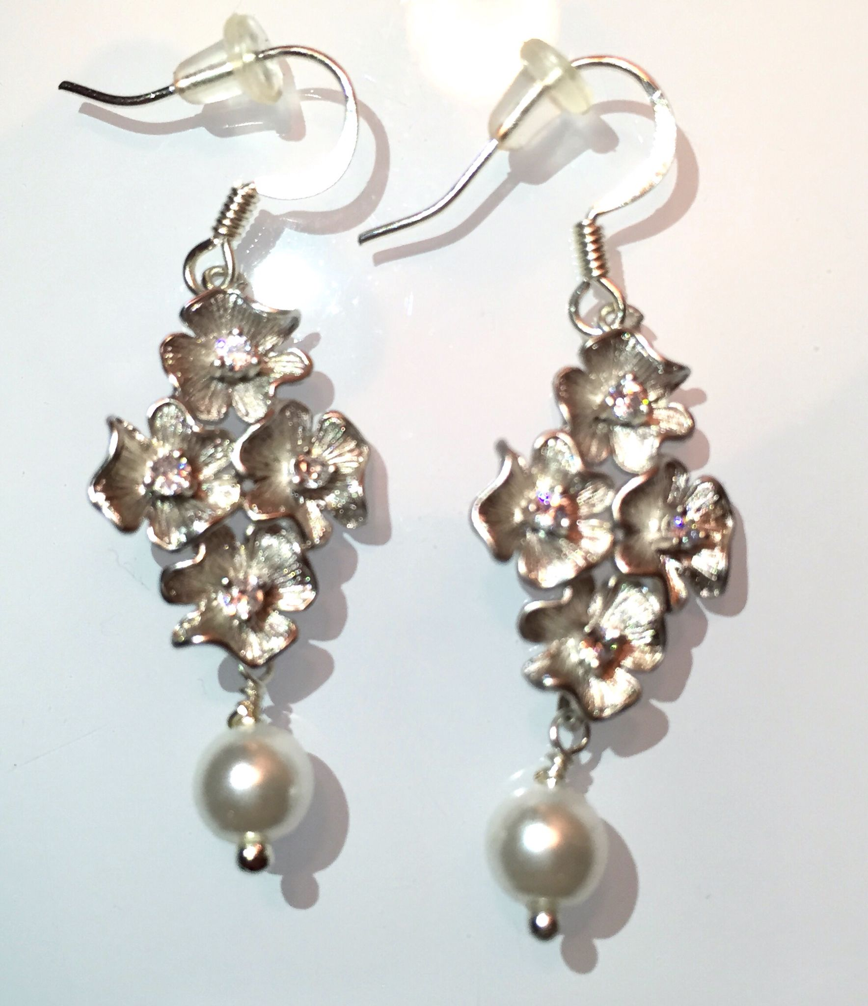 Hypoallergenic zirconia earrings !!! If you love this item please visit my page: www.etsy.com/JewelryByVogue