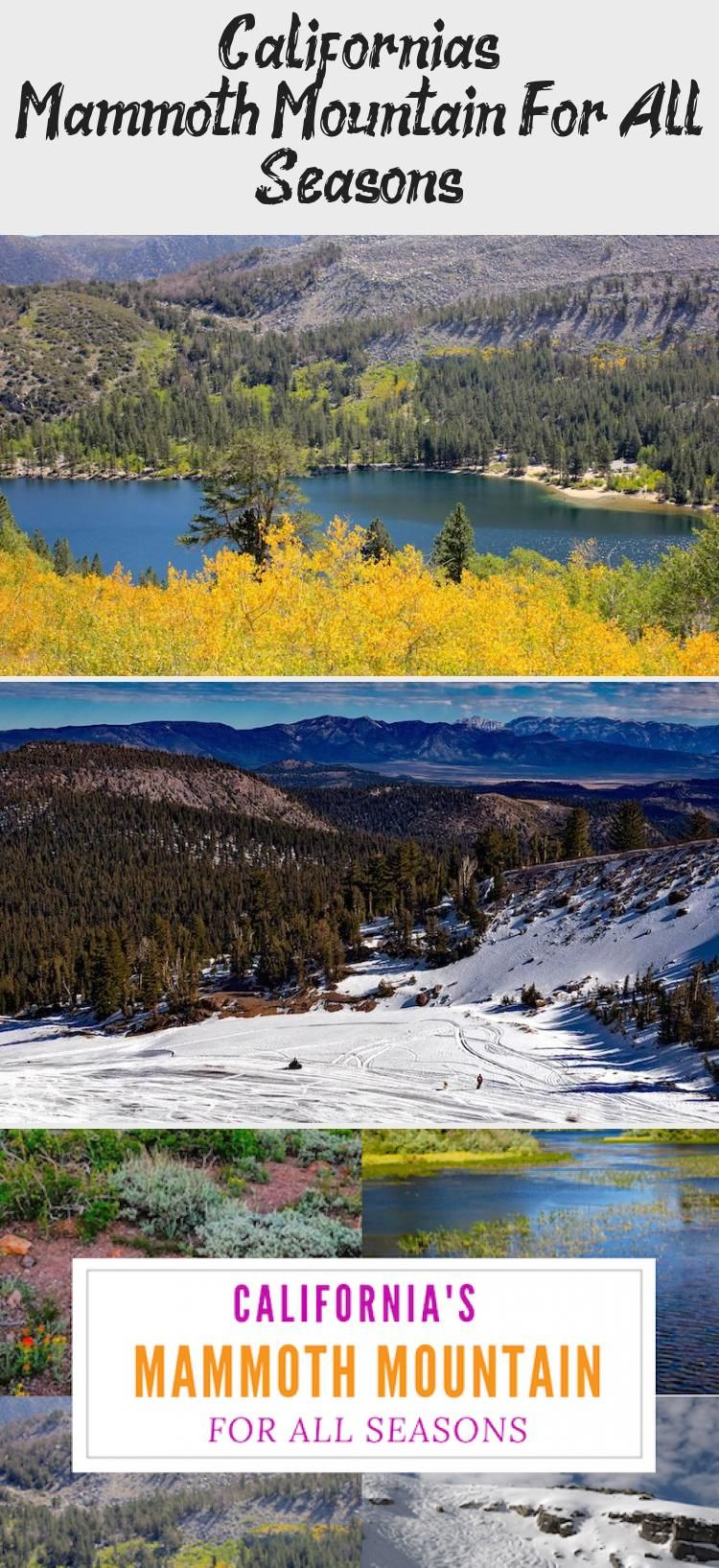 Californias mammoth mountain for all seasons in 2020