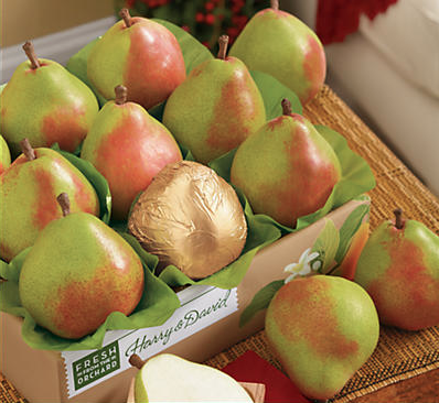 Christmas Pears.Christmas Pears Royal Riviera S Yuletide Fruit Gifts