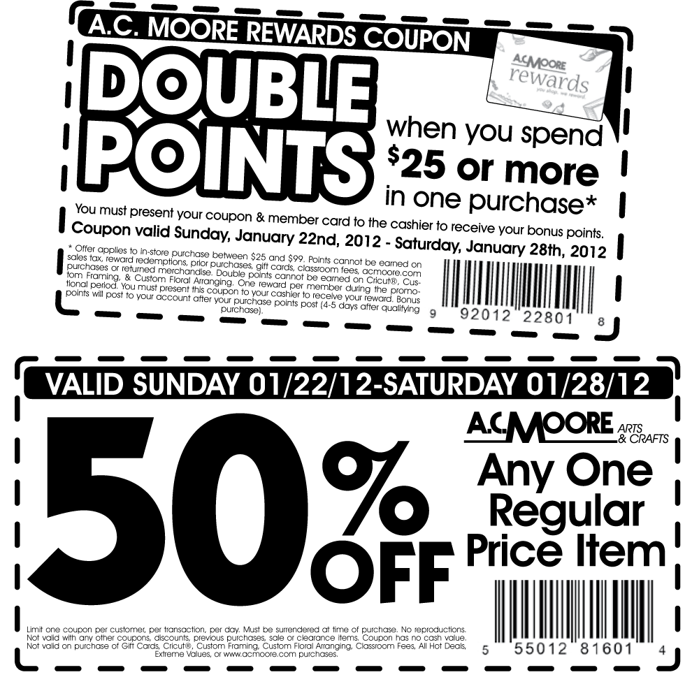 Ac Moore Coupon Printable Guide At Coupon Pressbox Gannettdigital Com