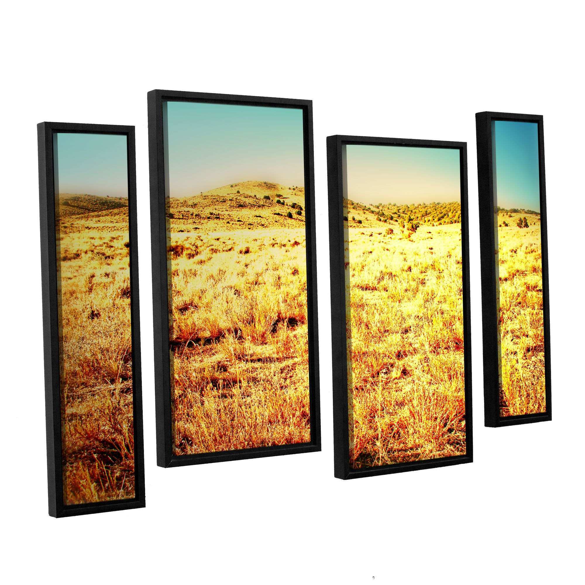 Take A Seat by Mark Ross 4 Piece Framed Photographic Print Set ...