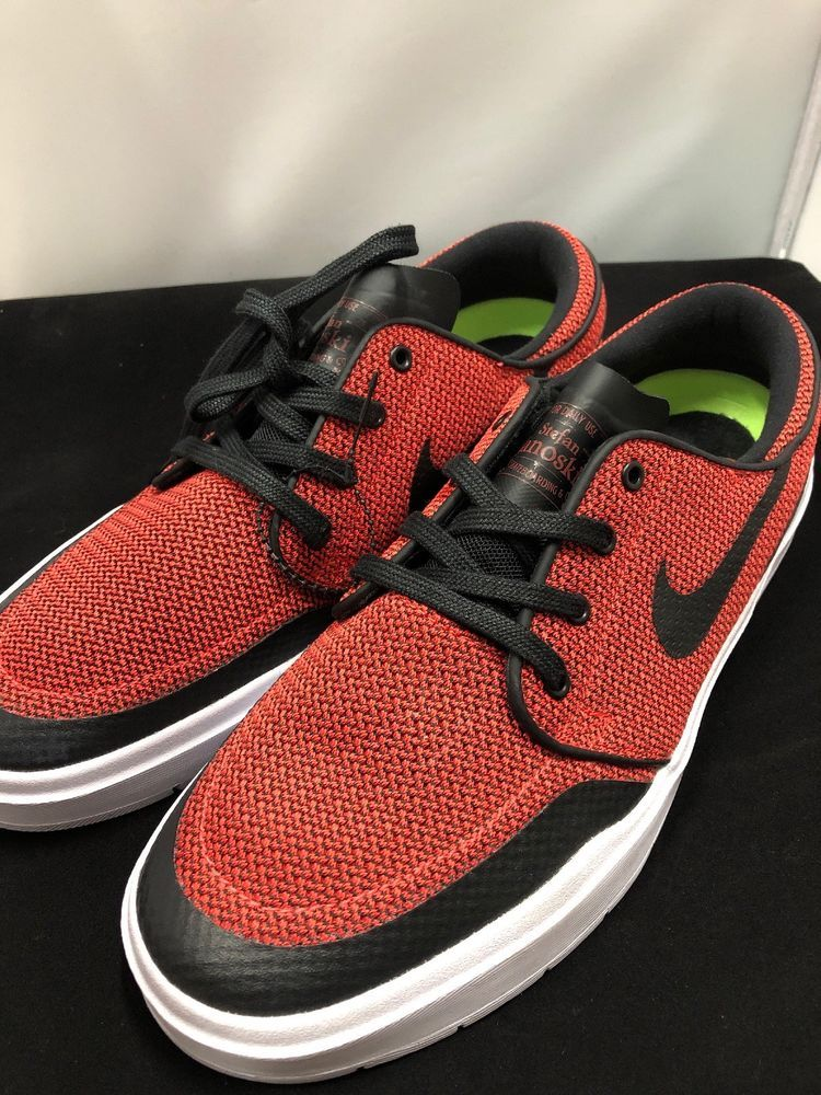 be48e1a619f8 Nike SB Stefan Janoski Red Mens Size 9  fashion  clothing  shoes   accessories