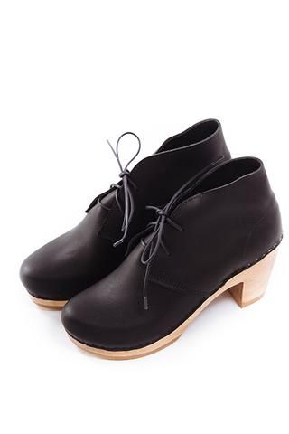 Garcia Leather Boot in Black by No.6 #wmgoods