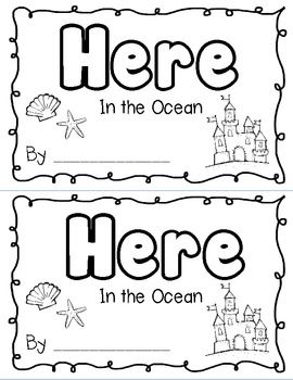 Printable sight word books for preschoolers