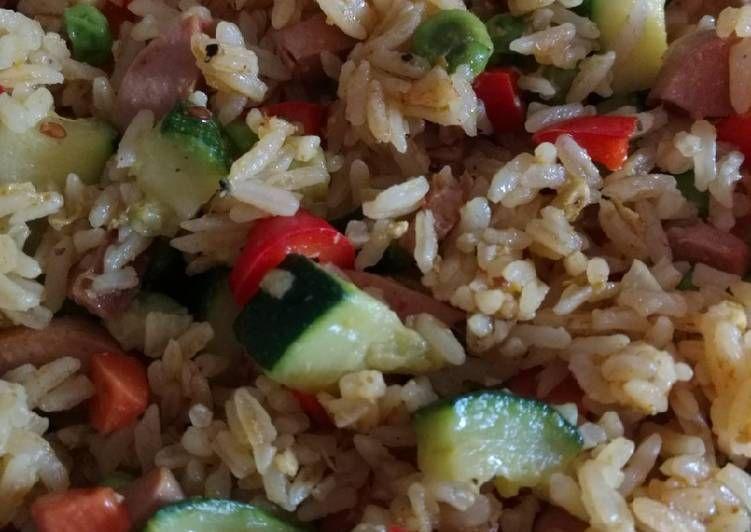 Step By Step Guide To Make Ultimate الرز الصيني المقلي Food Step Guide