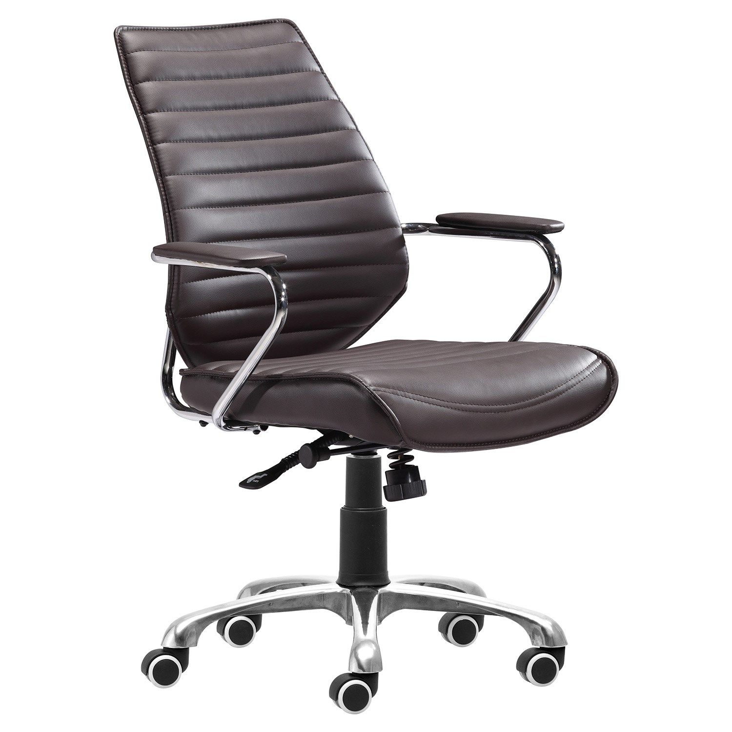 Enterprise Espresso Low Back Office Chair