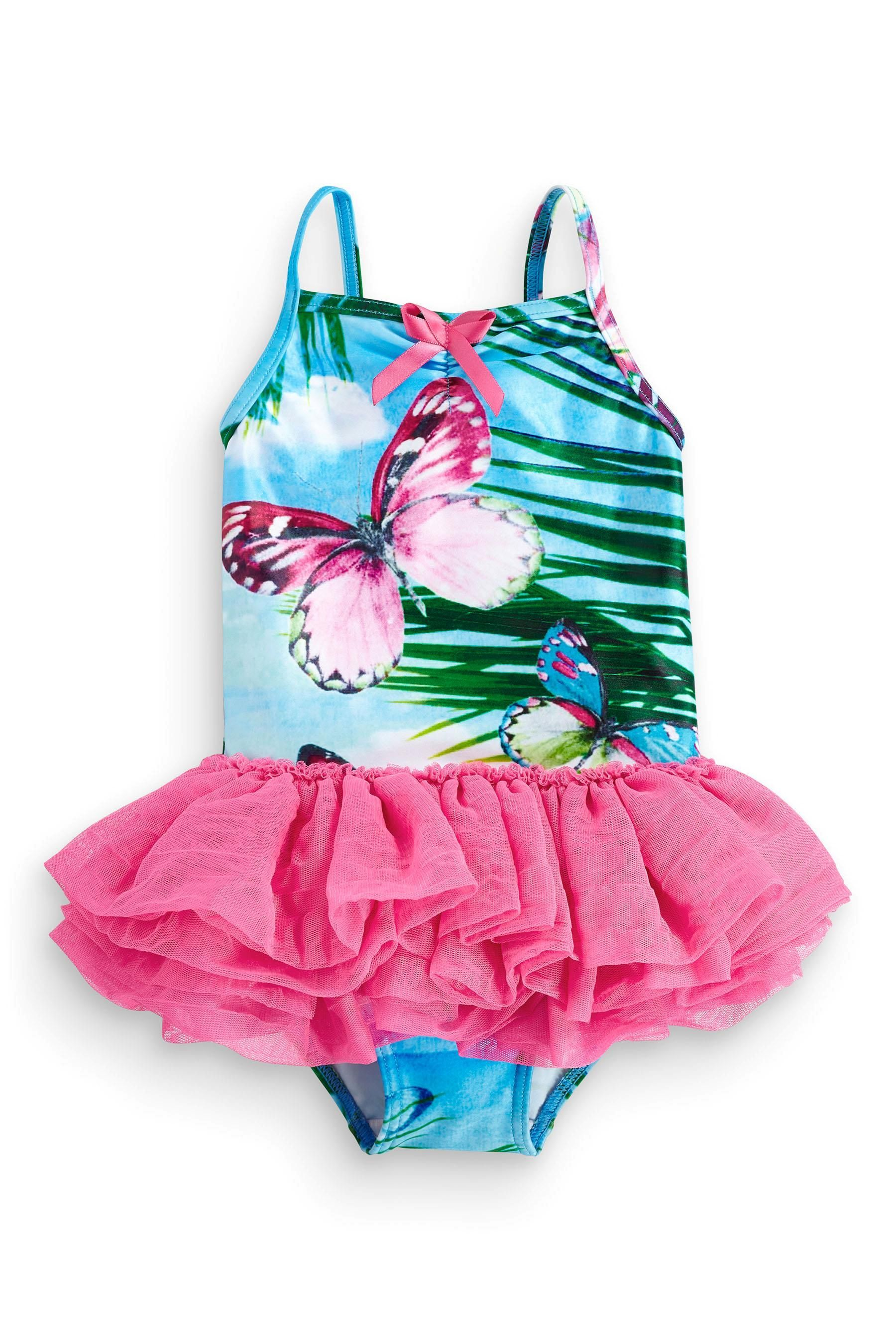 Buy Butterfly Scene Tutu Swimsuit 3mths 6yrs From The Next Uk