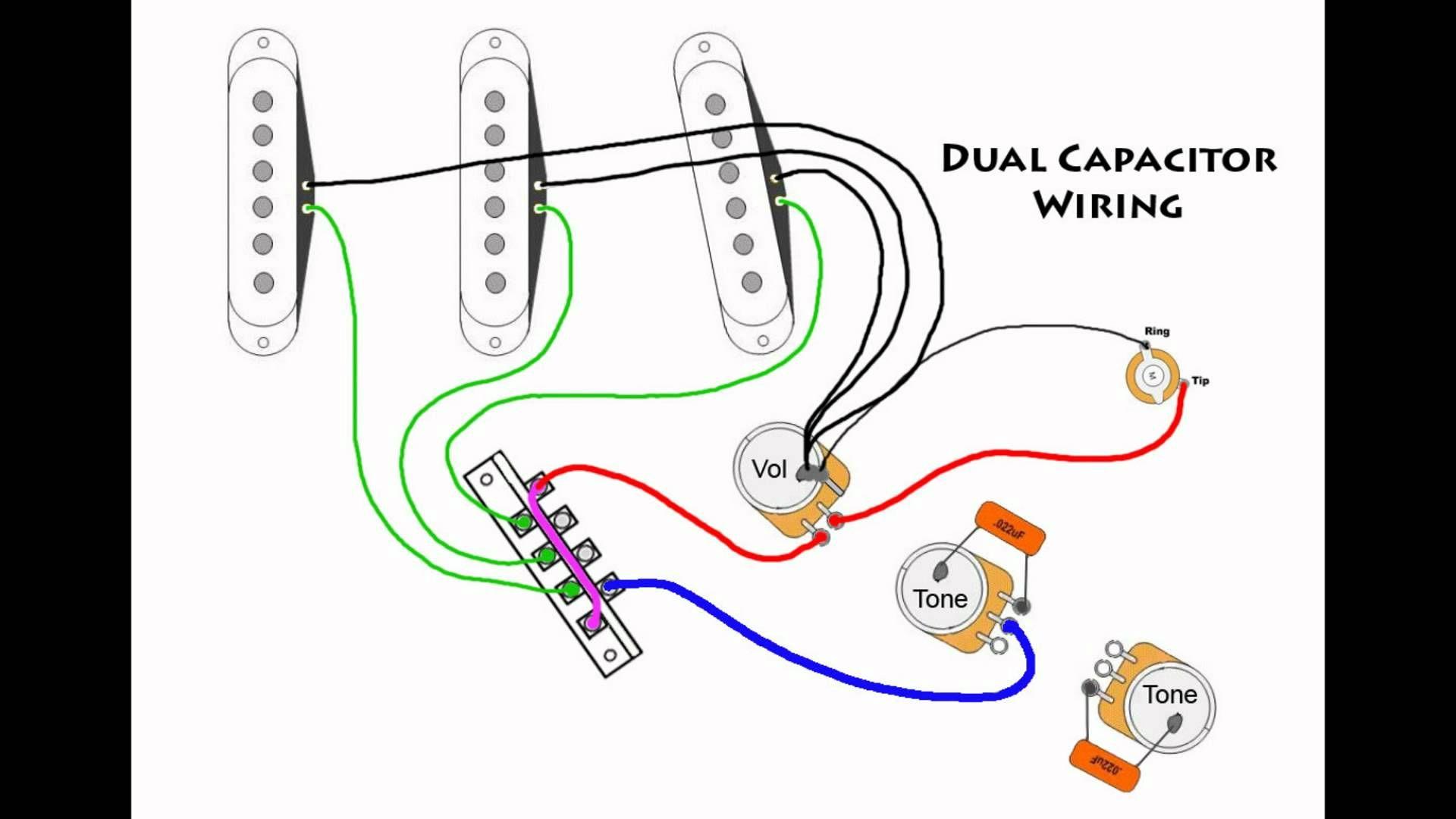fender wiring diagrams electric guitar