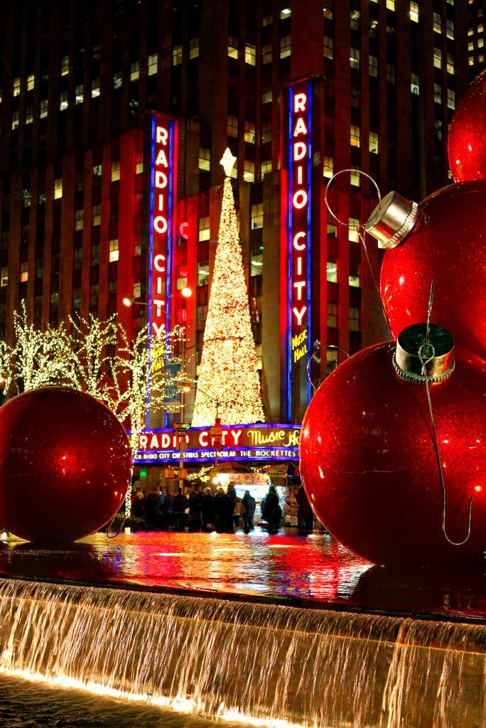 Christmas in New York City, New York ~ Rockefeller Center & Radio ...