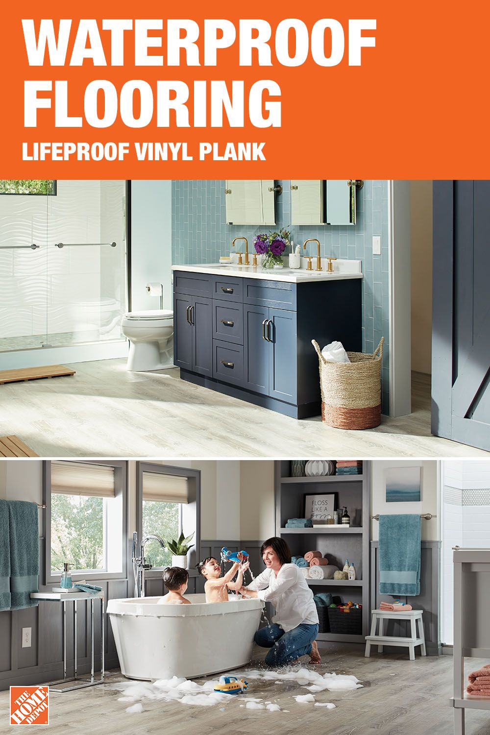 Discover Lifeproof Luxury Vinyl Plank Flooring From The Home Depot