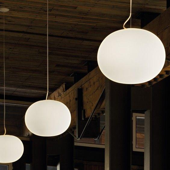 Flos glo ball pendant lamp by jasper morrison