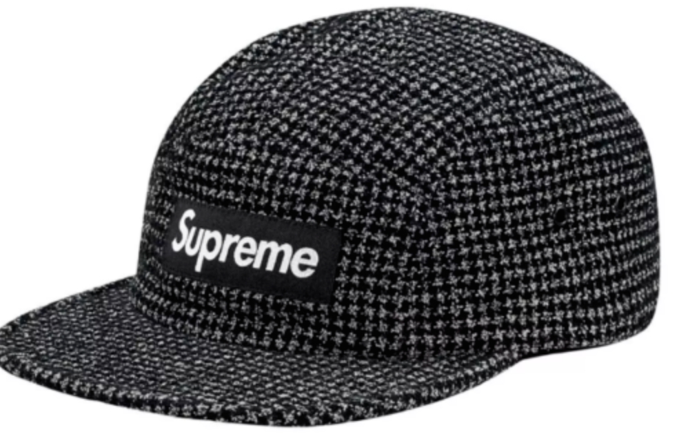 03524d9b0c1 FOR SALE  SUPREME BOUCLÉ HOUNDSTOOTH CAMP HAT - CAP SOLD OUT FW17 - BRAND  NEW