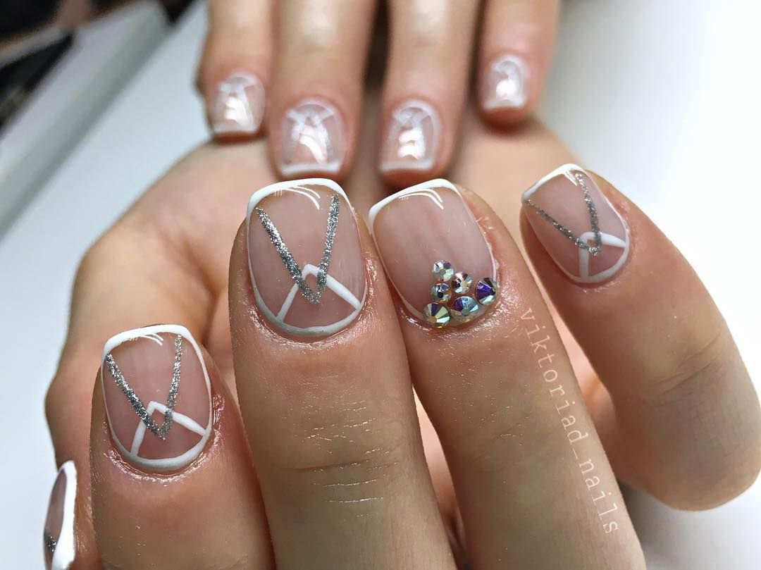 Double Crescent Nail Art Is The Latest Instagram Nail Trend - This ...