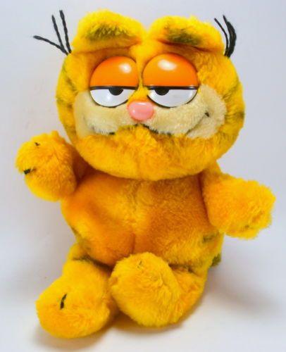 Vintage 1981 Garfield Stuffed Toy by Fun Farm #garfield