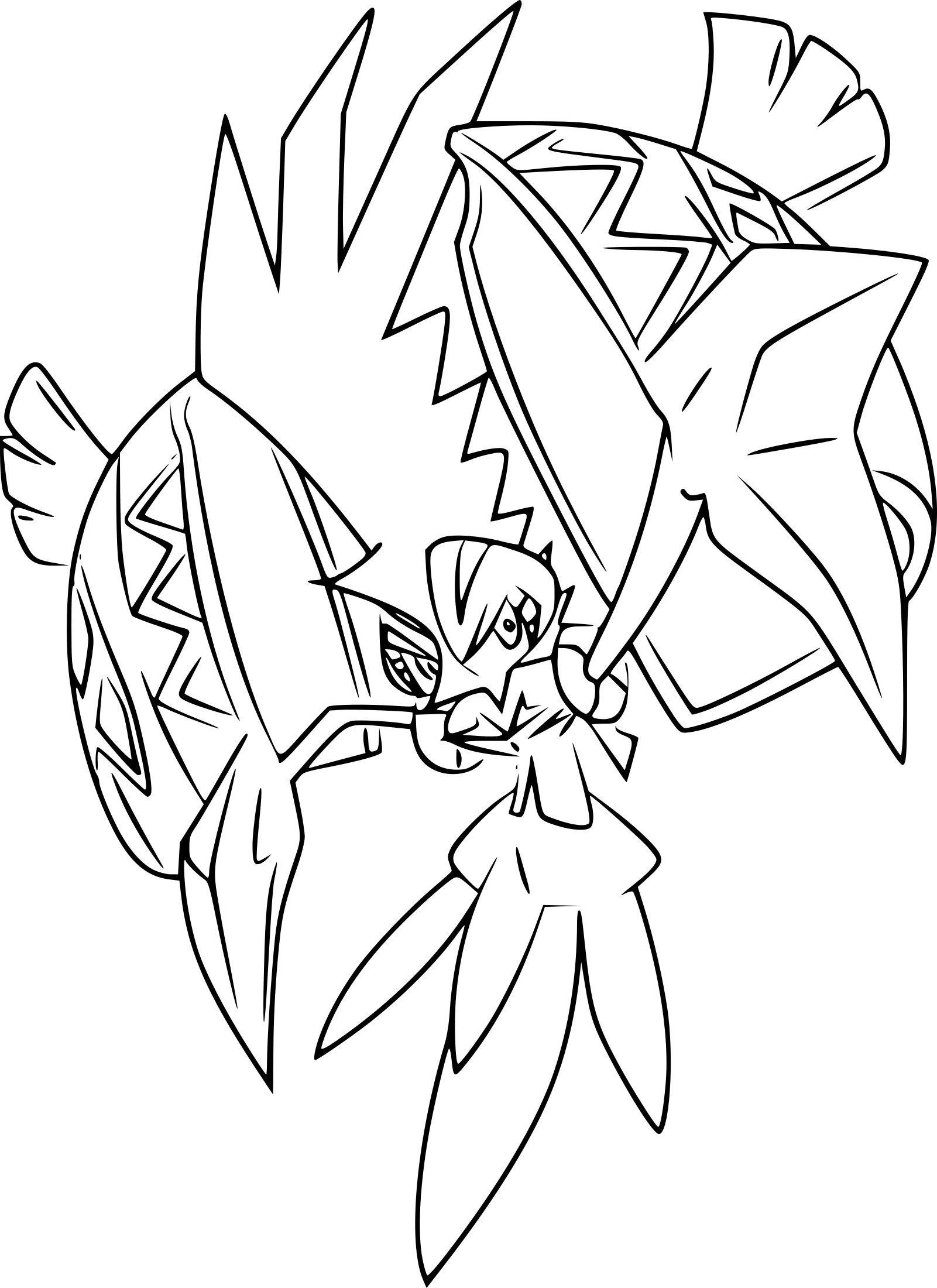 Coloriage Tokorico Pokemon A Imprimer Coloriage Pokemon