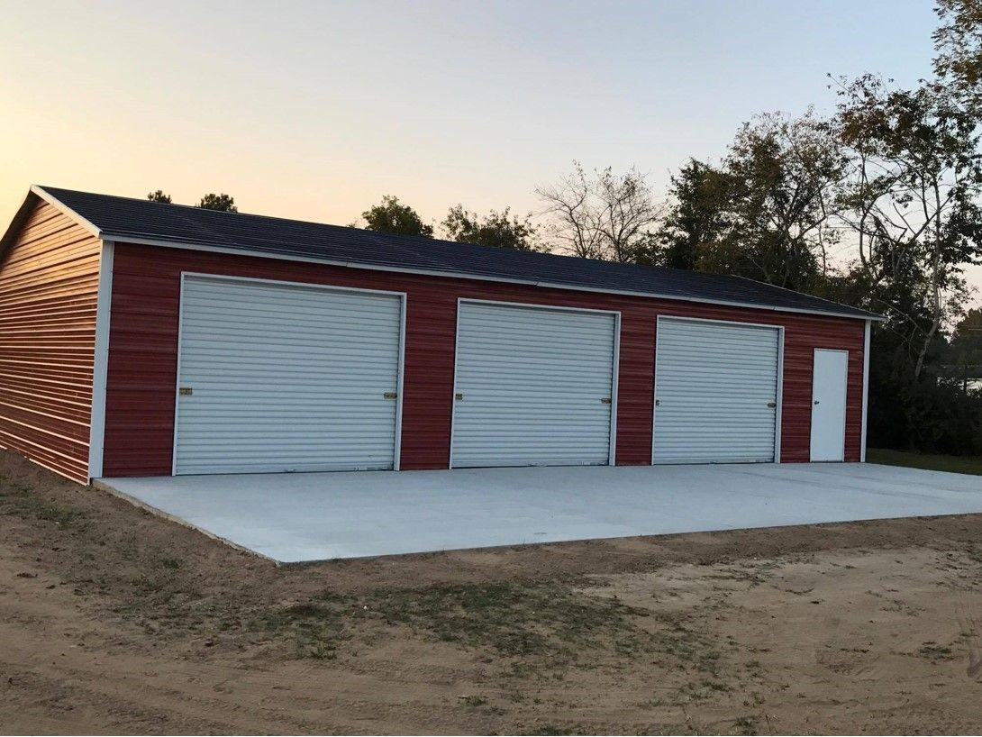 Shop Enclosed Garages in 2020 (With images) Diy carport
