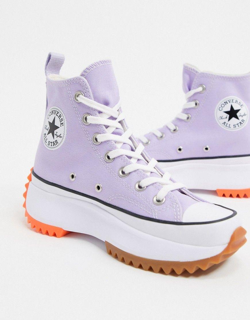 chaussure femme converse violet