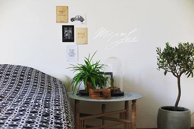 Een alternatief nachtkastje maakt je kamer uniek welk