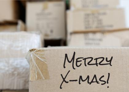 Als je tijdens de #kerstdagen nog volop tussen de #verhuisdozen zit