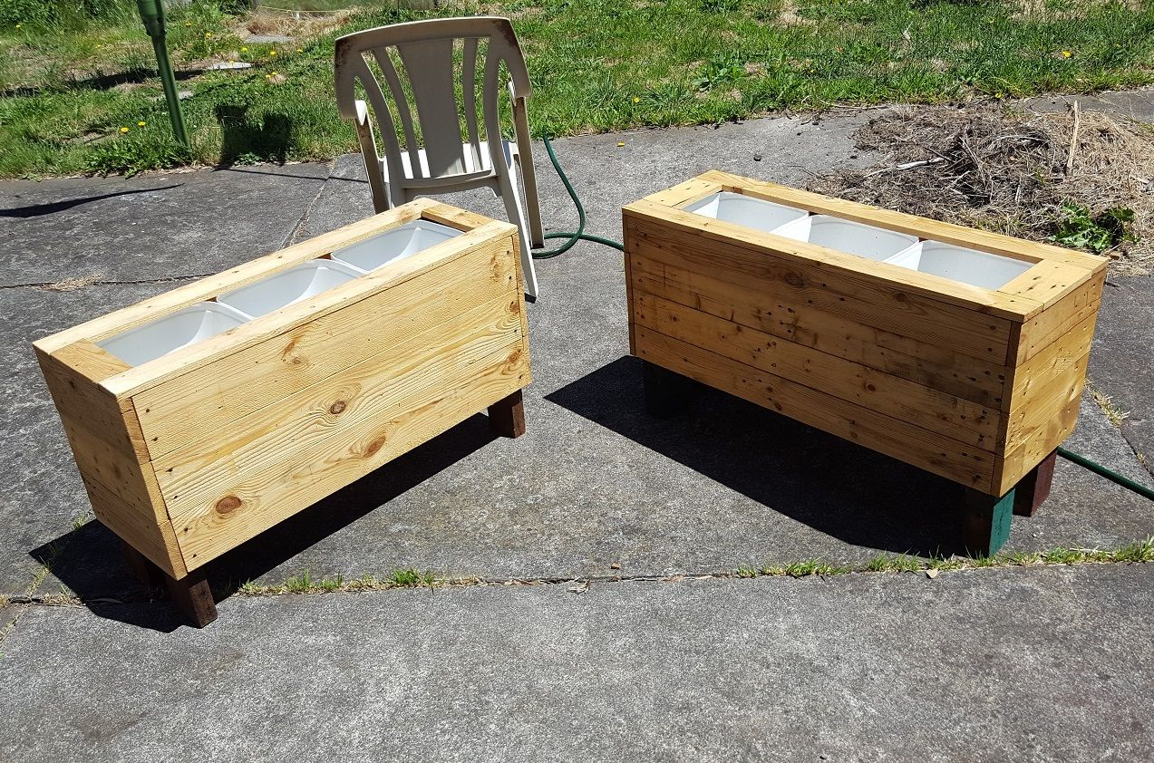 Here S A Diy Large Raised Planter Box