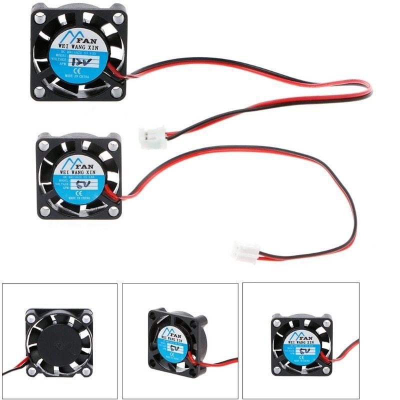 25 X 25 X 7mm Dc 5v 12v 2 Pin Cooler Brushless Chipset Heatsink