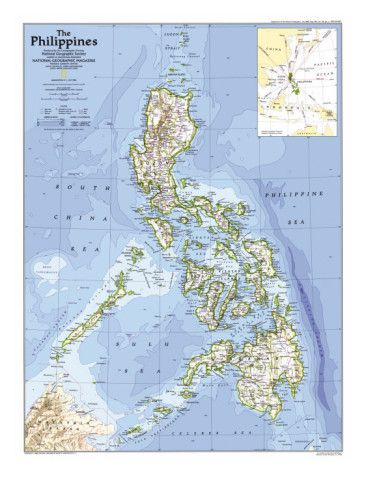 1986 philippines map philippines philippine map and national 1986 philippines map print by national geographic maps at allposters publicscrutiny Images