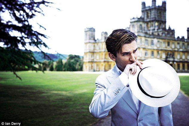 Dan Stevens in Downton Abbey.