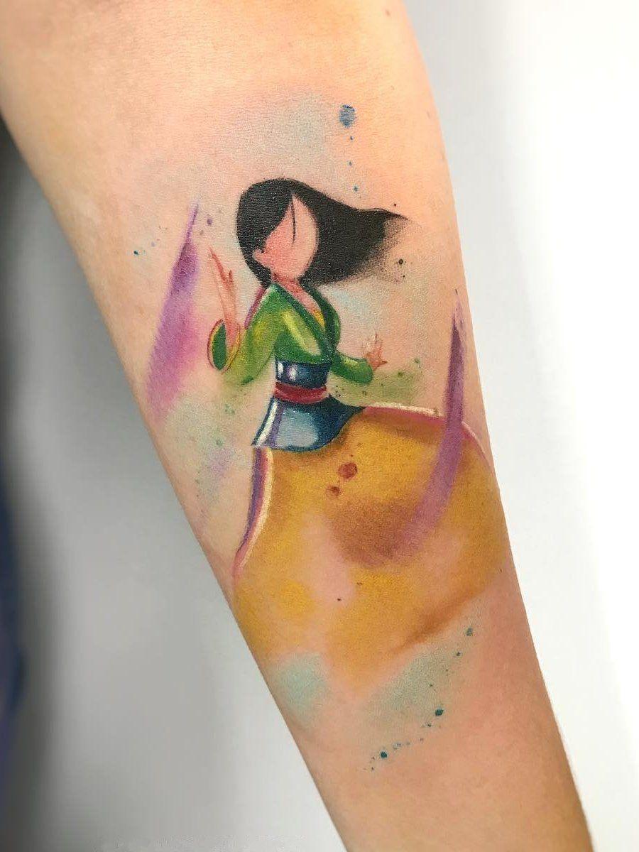 Ramon On Disney Watercolor Tattoo Tattoos Disney Tattoos
