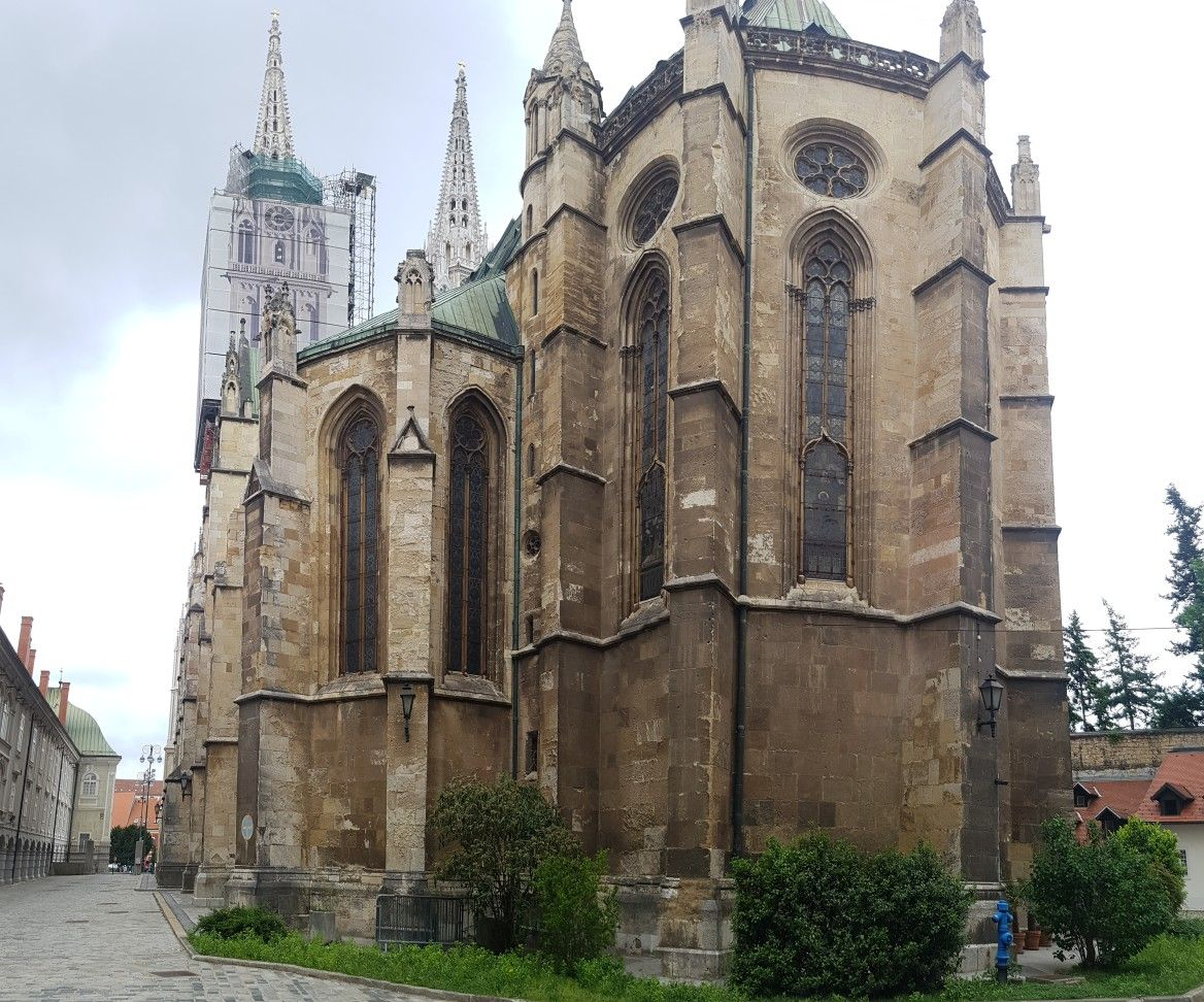 Cathedral Of Zagreb Croatia Cathedral Barcelona Cathedral Church