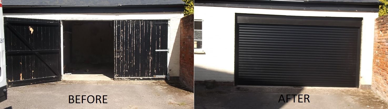 Our electric roller doors are made to measure so we can