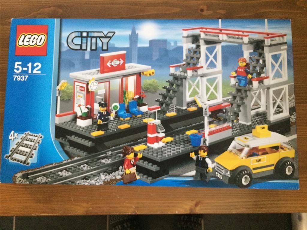 Lego City Tagstation Pa Tradera Com City Lego Leksaker