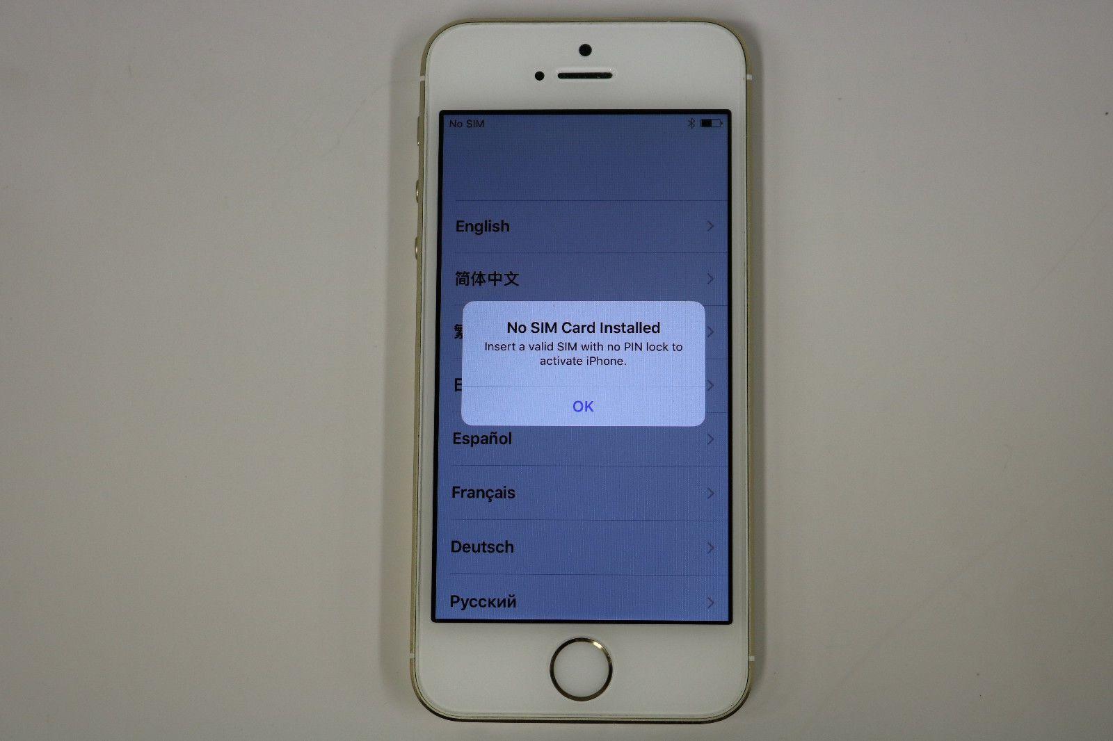 Apple iPhone 5s A1533 ME341LL/A 32GB (Verizon) Gold -  NO RESERVE (0127) https://t.co/ZqDpMitiRZ https://t.co/xPLHOMCQuM