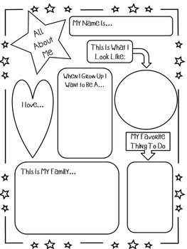Activities and Assessments for the First Week of School