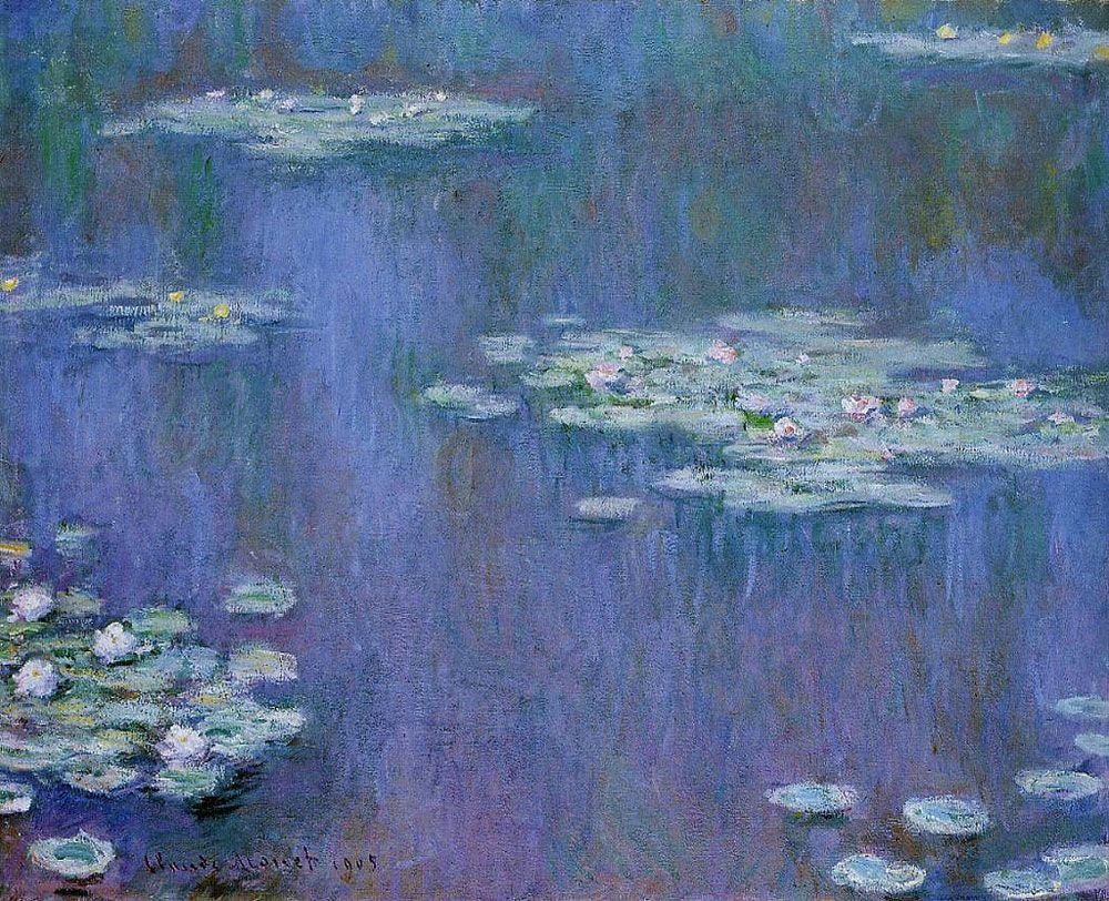 Histoire de l'art - Les mouvements dans la peinture - L'impressionnisme - Claude Monet - 1907 ...