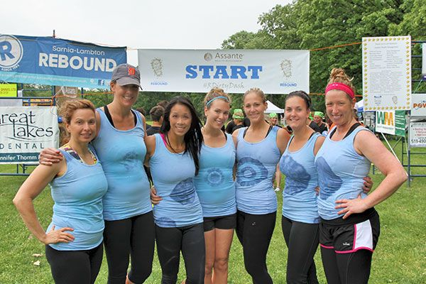 #Sarnia's Dirty Dash event raised money for Sarnia Rebound. Great Lakes Dental was a proud sponsor of the event.