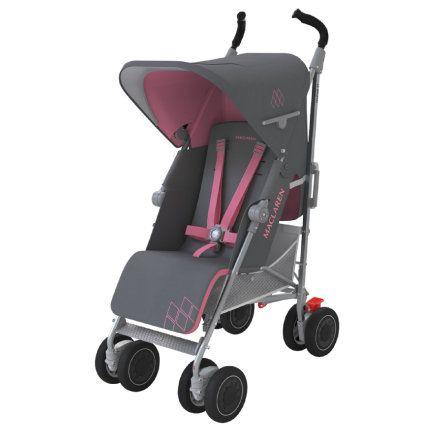 Maclaren Capazo XLR gris//rosa