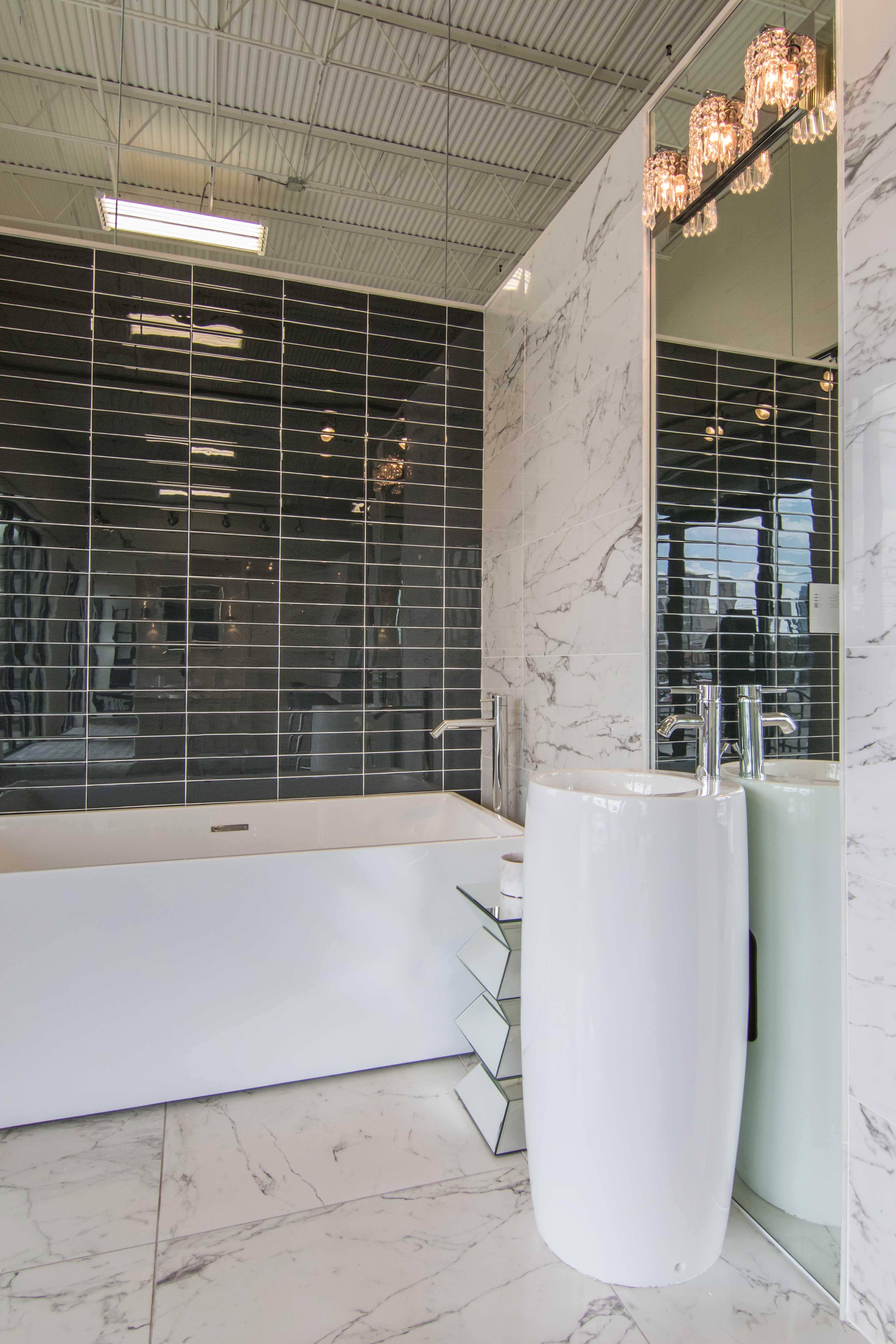 bathroom wall tile pinstripe black glass subway tile https www tileshop com product 615762 do bathroom wall tile shower tile the tile shop