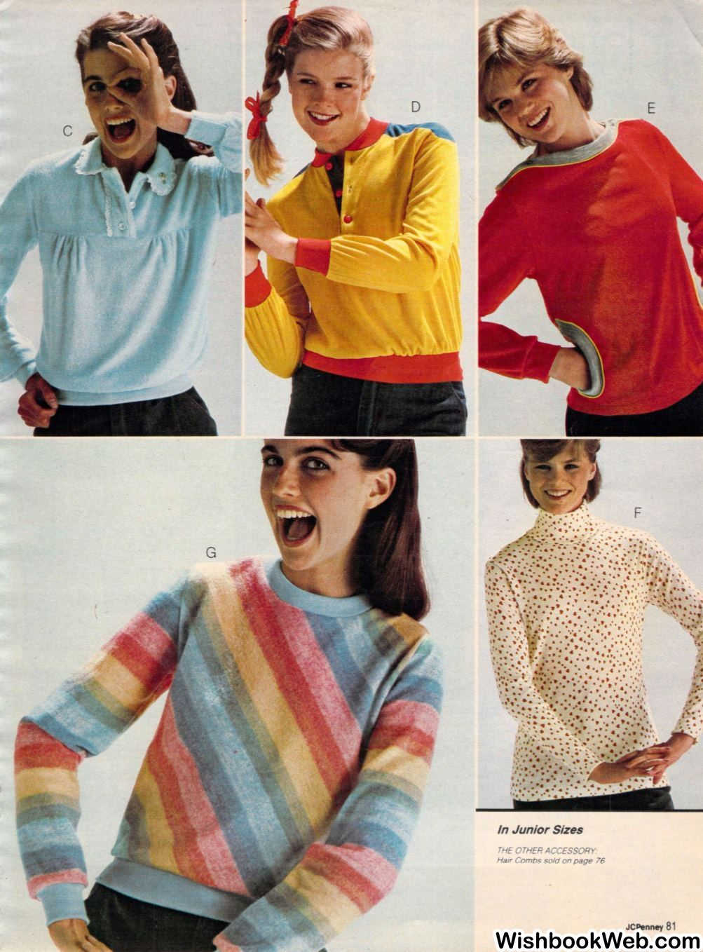 1980 JCPenney Christmas Catalog | Women's Fashion - 1980's