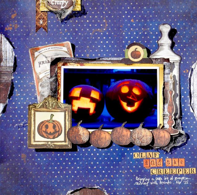 Layout: Our Pumpkins Layout