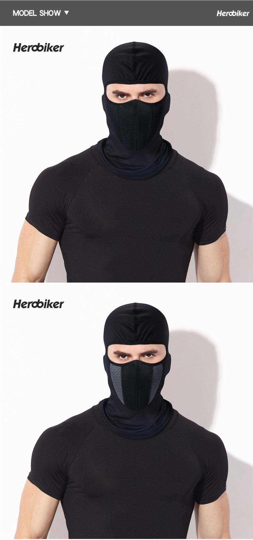 Balaclava Motorcycle Face Mask Outdoor Motor Helmet