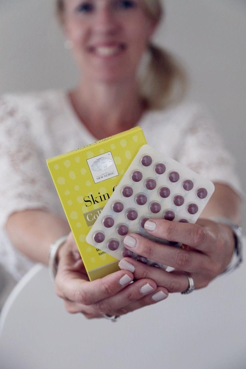 Vaaleanpunainen hirsitalo blogin kirjoittaja kokeili Skin Care Collagen Filleriä