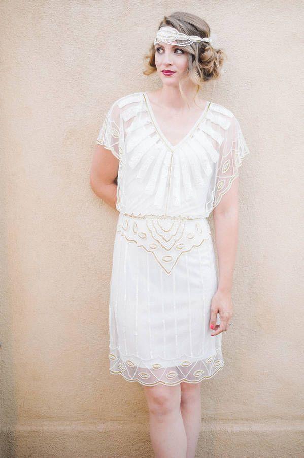 Great Gatsby Bridesmaid Dresses | Pinterest | Flapper wedding ...