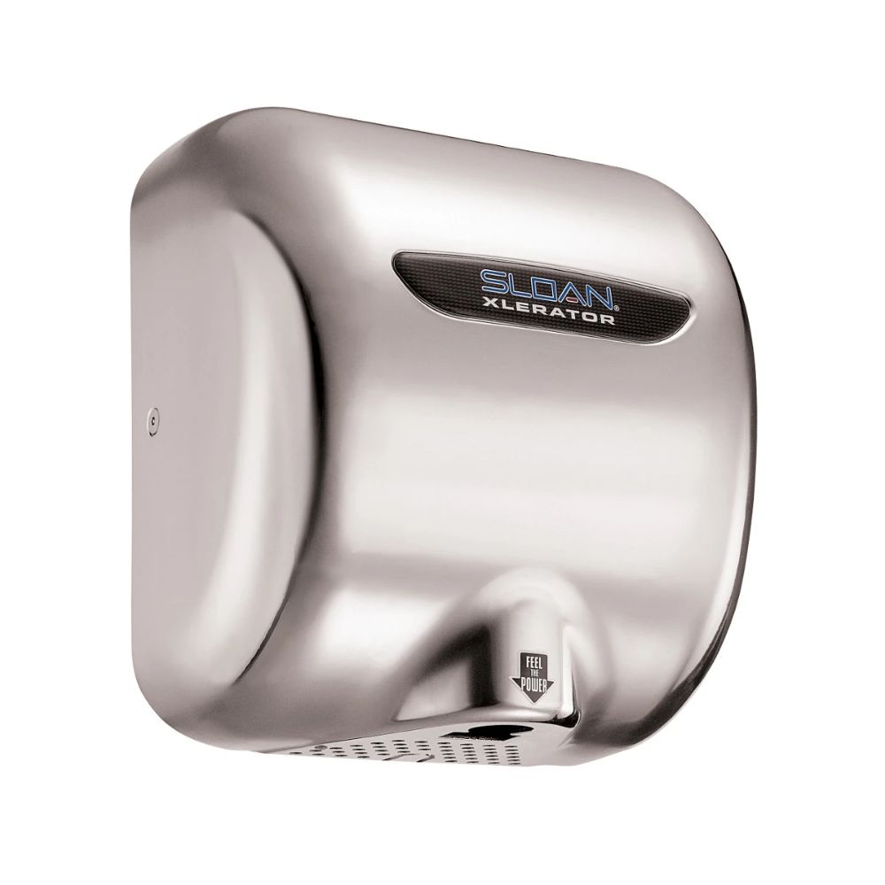 Sloan EHD501 Hand dryer, Janitorial supplies, Chrome